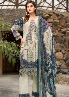 Barkha by Shamira Embroidered Lawn Unstitched 3 Piece Suit SHR20B 03 - Spring / Summer Collection
