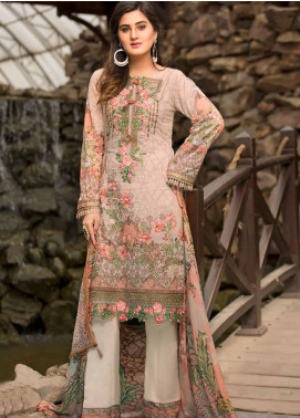 Barkha by Shamira Embroidered Lawn Unstitched 3 Piece Suit SHR20B 04 - Spring / Summer Collection