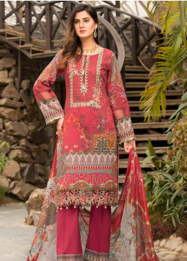 Barkha by Shamira Embroidered Lawn Unstitched 3 Piece Suit SHR20B 06 - Spring / Summer Collection