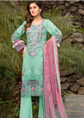 Barkha by Shamira Embroidered Lawn Unstitched 3 Piece Suit SHR20B 08 - Spring / Summer Collection