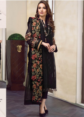 Baroque Embroidered Lawn Unstitched 3 Piece Suit BQ19-S2 03 RAELYNN - Mid Summer Collection