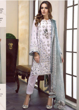 Baroque Embroidered Lawn Unstitched 3 Piece Suit BQ19-S2 05 BRIELLA - Mid Summer Collection