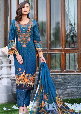 Bashir Ahmed Embroidered Lawn Unstitched 3 Piece Suit BA20L 01 - Summer Collection