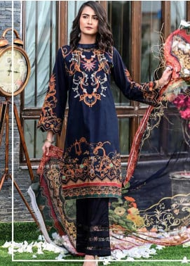 Bashir Ahmed Embroidered Lawn Unstitched 3 Piece Suit BA20L 02 - Summer Collection