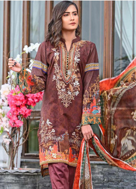 Bashir Ahmed Embroidered Lawn Unstitched 3 Piece Suit BA20L 03 - Summer Collection