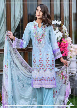 Bashir Ahmed Embroidered Lawn Unstitched 3 Piece Suit BA20L 05 - Summer Collection