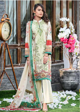 Bashir Ahmed Embroidered Lawn Unstitched 3 Piece Suit BA20L 07 - Summer Collection