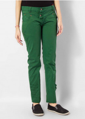Bien Habille Trouser Modern Fit Green