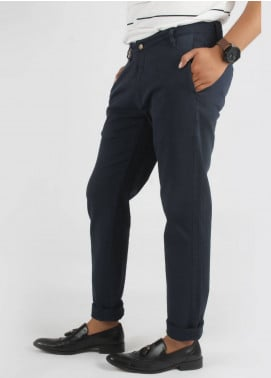 Bien Habille Cotton Casual Jeans for Men -  Dark Blue