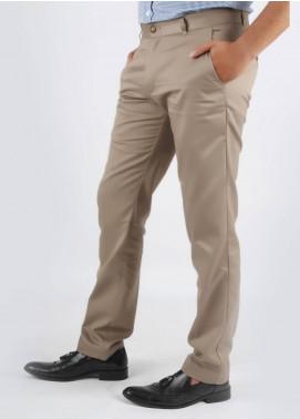 Bien Habille Cotton No-Iron Trouser for Men -  Smart Fit Plaza Taupe Grey