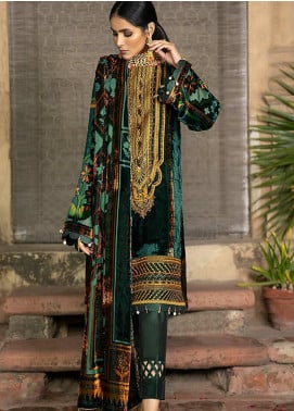 BIN ILYAS Embroidered Palachi Unstitched 3 Piece Suit BI20W 06B - Winter Collection