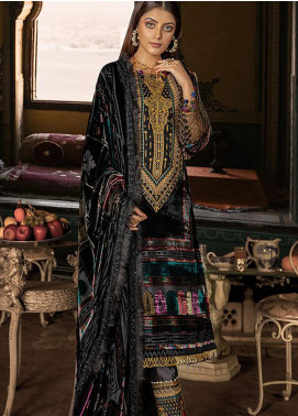 BIN ILYAS Embroidered Palachi Unstitched 3 Piece Suit BI20W 07 - Winter Collection