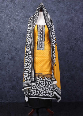 Bin Saeed Printed Lawn Unstitched 3 Piece Suit DD - Spring / Summer Collection