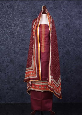 Bin Saeed Printed Lawn Unstitched 3 Piece Suit D-2 - Spring / Summer Collection