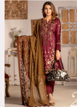 Blooming Summer by MTF Embroidered Lawn Unstitched 3 Piece Suit MTF20BM 2 - Luxury Collection
