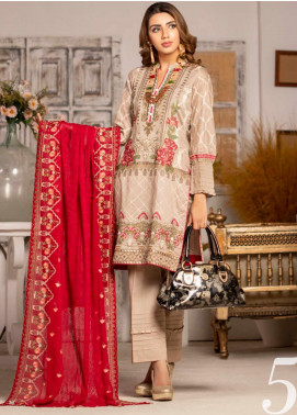 Blooming Summer by MTF Embroidered Lawn Unstitched 3 Piece Suit MTF20BM 5 - Luxury Collection