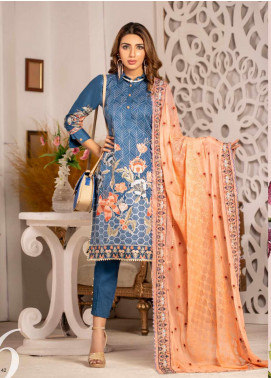Blooming Summer by MTF Embroidered Lawn Unstitched 3 Piece Suit MTF20BM 6 - Luxury Collection