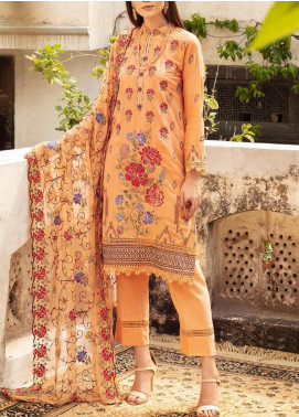 Blossom by Riaz Arts Embroidered Karandi Unstitched 3 Piece Suit RA20K 09 - Winter Collection