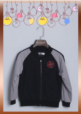 Sanaulla Exclusive Range Cotton Casual Jackets for Boys -  1166 Black