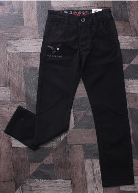 Sanaulla Exclusive Range Denim Jeans Boys Pants -  M5 Black