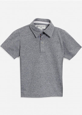 Brumano Cotton Polo Shirts for Boys - Grey BRM-087