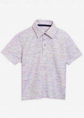 Brumano Cotton Polo Boys Shirts - Grey BRM-100