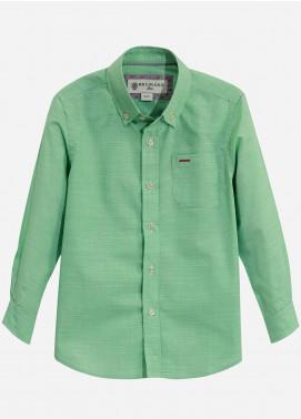 Brumano Cotton Casual Boys Shirts - Green BRM-662