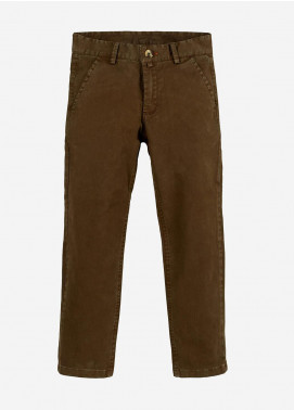 Brumano Cotton Casual Boys Trousers -  BRM-555-Brown