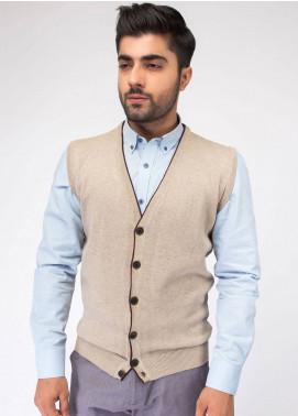Brumano Cotton Button Cardigans for Men - Beige BRM-23-982