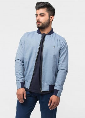 Brumano Cotton Full Sleeves Jackets for Men - Blue BRM-11-0549