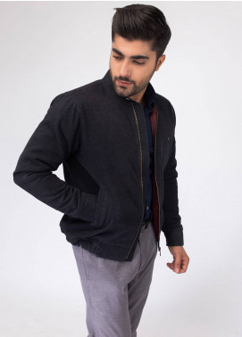 Brumano Cotton Full Sleeves Jackets for Men - Black BRM-11-0692