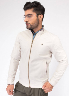 Brumano Cotton Full Sleeves Jackets for Men - White BRM-11-741