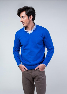 Brumano Cotton Full Sleeves V-Neck Sweaters for Men -  FS-017