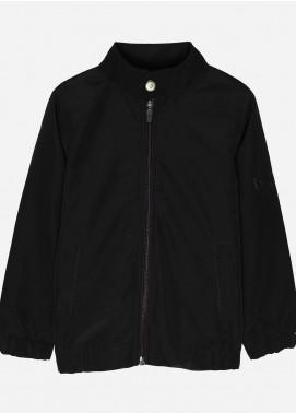 Brumano Polyester Casual Jackets for Boys -  BM20JJ Black Light Weight Jacket-Junior