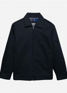 Brumano Polyester Casual Jackets for Boys -  BM20JJ Cotton Twill Collar Jacket-Junior