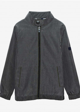 Brumano Polyester Casual Jackets for Boys -  BM20JJ Olive Light Weight Jacket-Junior