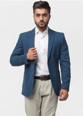 Brumano Cotton Casual Men Blazer - Ink Blue BLZ-506