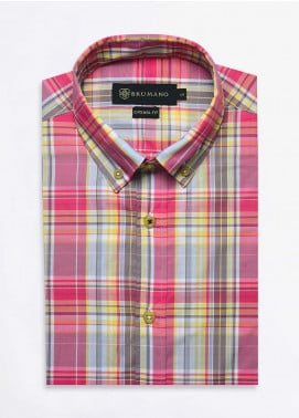 Brumano Cotton Formal Men Shirts -  BRM-1073