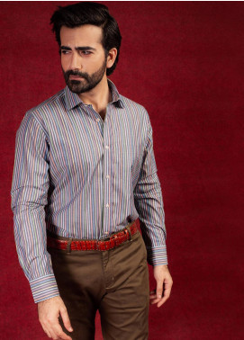 Brumano Cotton Formal Shirts for Men - Multi BRM-618