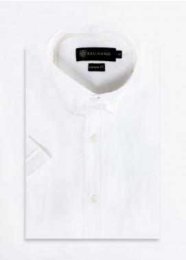 Brumano Cotton Formal Men Shirts -  BRM-668-White