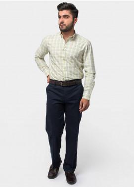 Brumano Cotton Formal Men Shirts - Green BRM-770