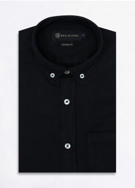Brumano Cotton Formal Shirts for Men -  BRM-852-Black