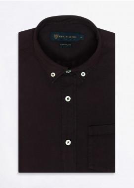 Brumano Cotton Formal Men Shirts -  BRM-852-Brown