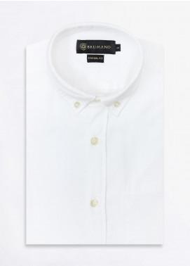 Brumano Cotton Formal Men Shirts -  BRM-852-White