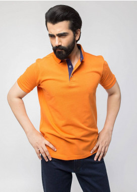 Brumano Cotton Polo Men Shirts - Orange BRM-44-121