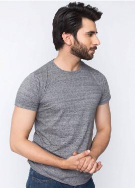 Brumano Cotton Casual Men T-Shirts - Charcoal BRM-42-977