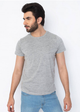 Brumano Cotton Casual T-Shirts for Men - Grey BRM-42-998