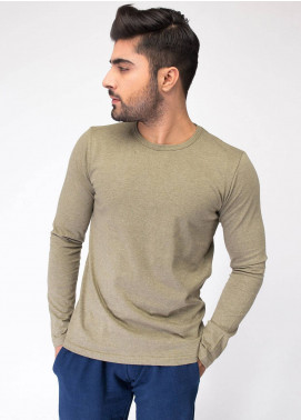 Brumano Cotton Casual T-Shirts for Men - Green BRM-43-0057