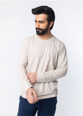 Brumano Cotton Casual T-Shirts for Men - Beige BRM-43-030