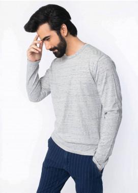Brumano Cotton Casual Men T-Shirts - Grey BRM-43-932